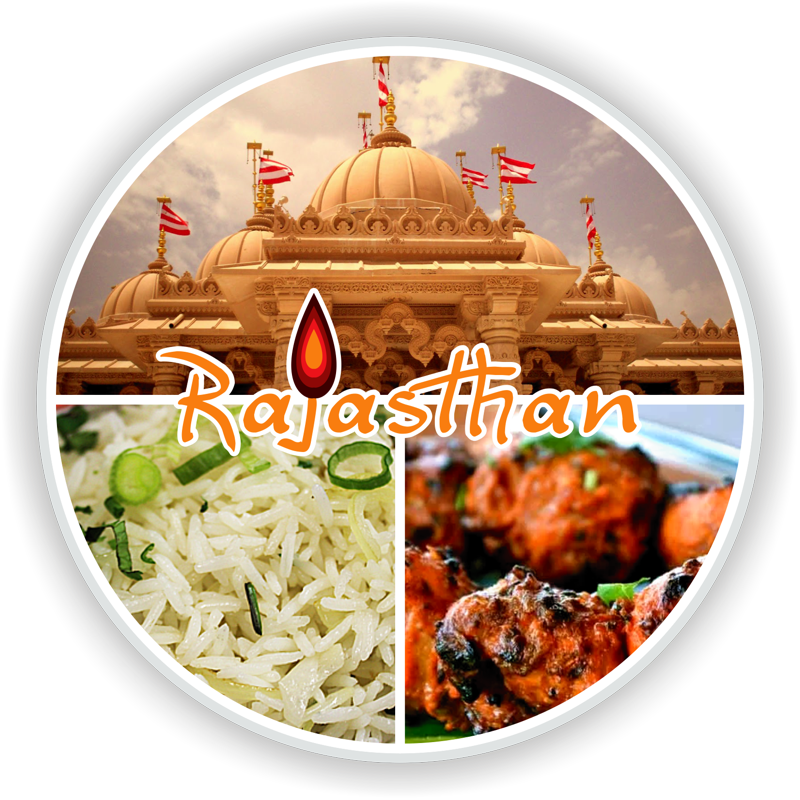 Photo Rajasthan with logo