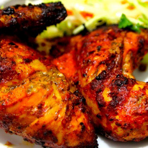 Poulet Tandoori Restaurant Indien Rajasthan - Cuisine indienne poulet tandoori