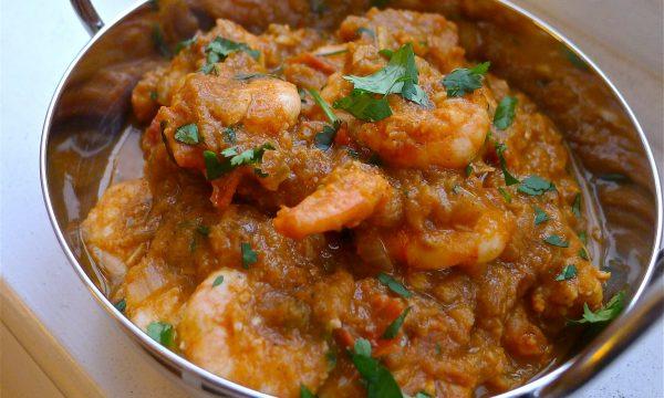 Crevettes Madras