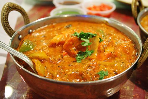 Saumon ou Crevettes Shahi Korma